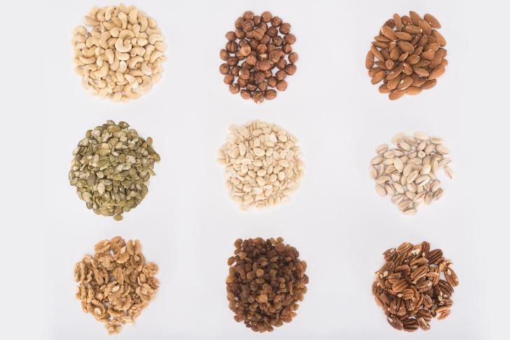 13 самых полезных орехов и семян, которые стоит есть каждый день, чтобы оставаться здоровым