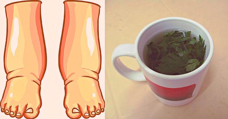 Как избавиться от отечности ног и лица с помощью бабушкиного натурального средства