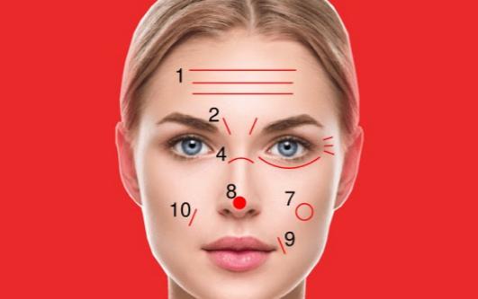 Что линии на лице говорят о вашем здоровье