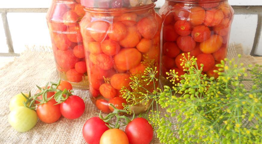 Маринованные помидорчики черри