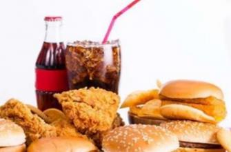 Продукты, которые вызывают рак