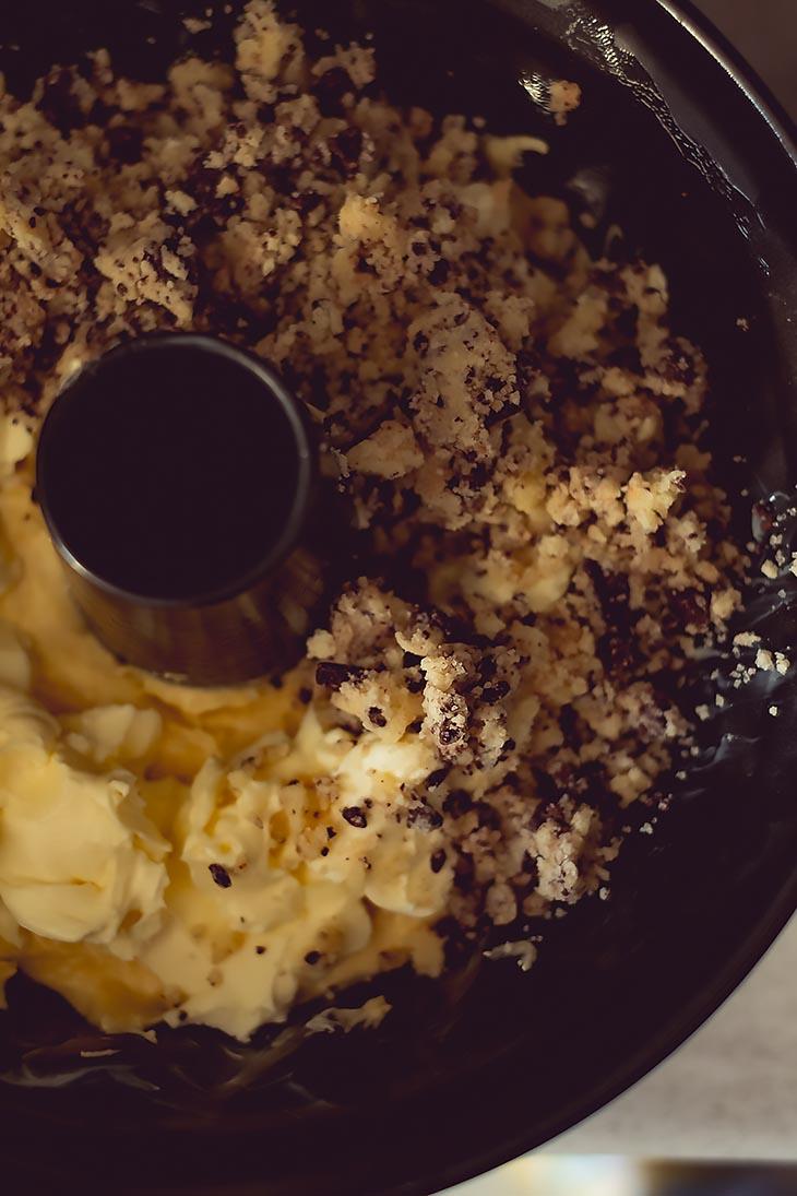 Тыквенный кекс с маскарпоне и шоколадом