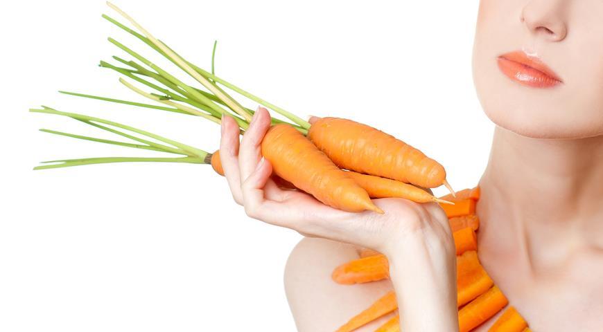 Маски из моркови для лица, волос, губ