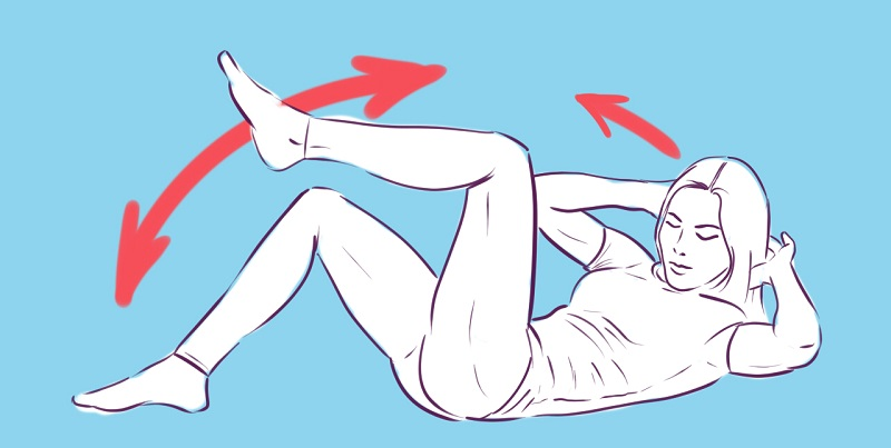 Всего-то 5 упражнений: гимнастика для печени, желчного пузыря, поджелудочной и кишечника. Помогут при лечении хронического панкреатита и холецистита.