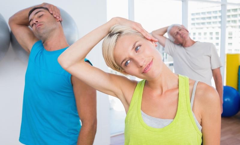 6 минутных упражнений для здоровья шеи. Шейный остеохондроз тихо уйдет…