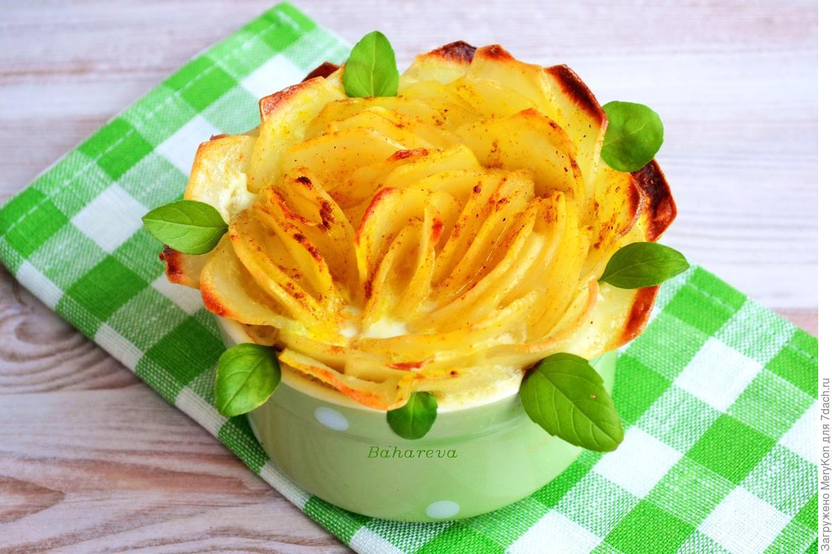 Картофель «Розочка»