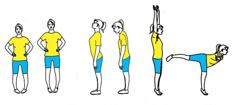 15 эффективных упражнений для сосудов