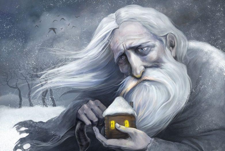 Старец разрезал лук накрест и положил его в чай…