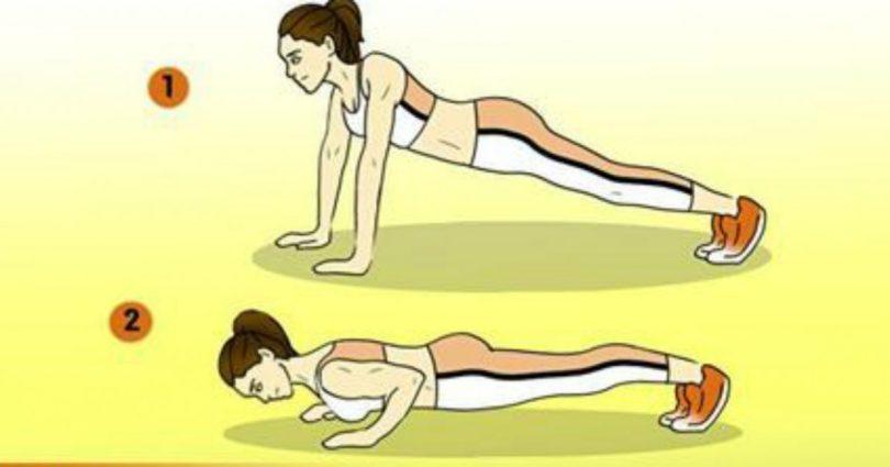 Этот план домашних упражнений для похудения поможет сжечь жир без тренажеров