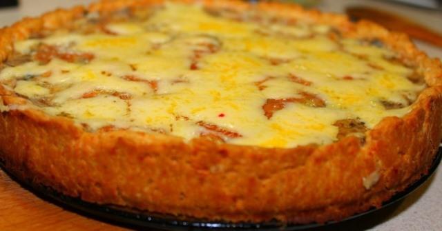Шикарный картофельный пирог «Драник».