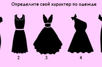 Выберите платье и мы расскажем вам многое о вашем характере!