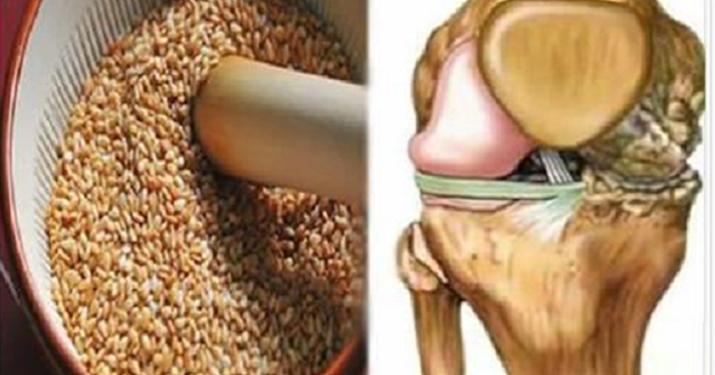 Смесь этих семян — самое мощное и эффективное средство от боли в коленях и суставах!