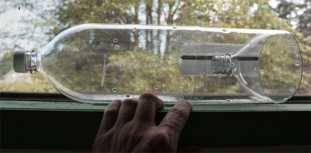 Пластиковая бутылка - незаменимый помощник в экстренной ситуации!