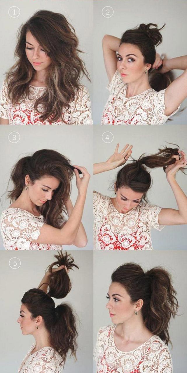Причёски, которые каждая девушка может сделать за 5 минут
