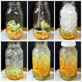 Готовим вкусную и полезную воду
