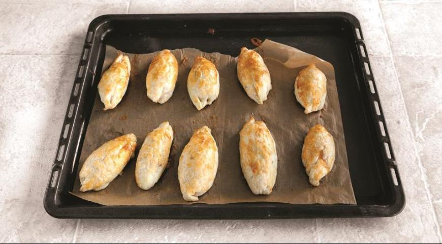 Пирожки с курицей