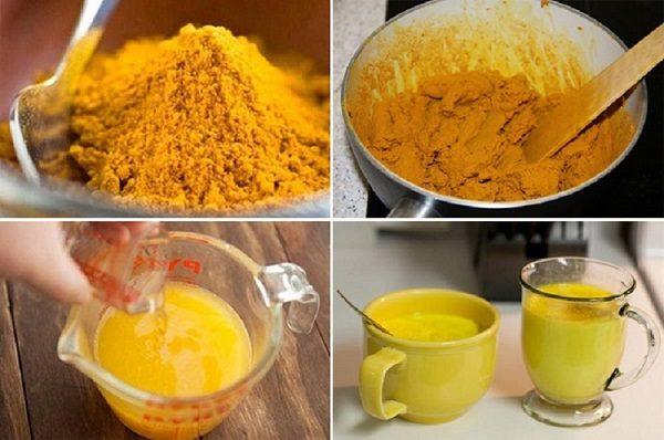 Чай из куркумы для активации работы печени и похудения