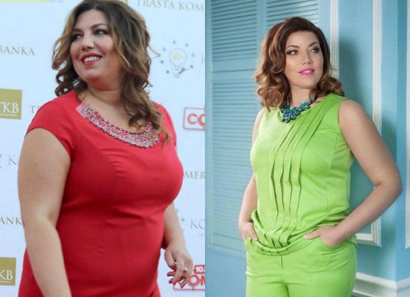 Как похудела Екатерина Скулкина?