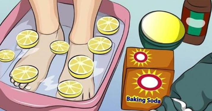 Эта лимонная ванна для ног может помочь детоксифицировать все ваше тело