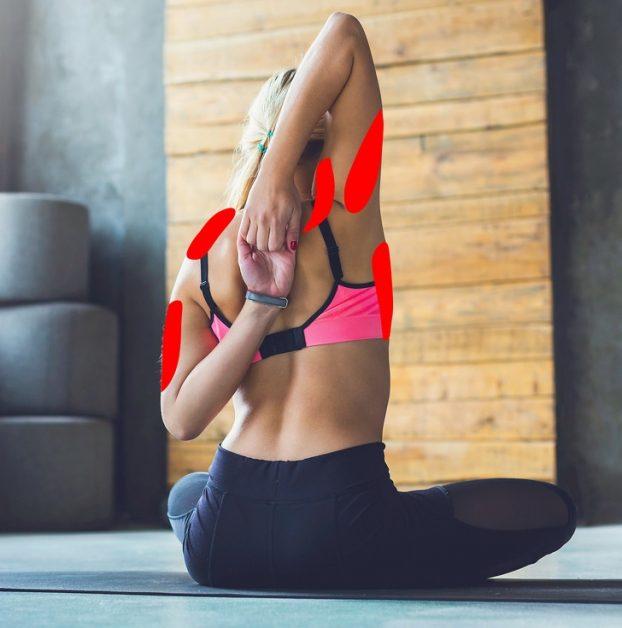 11 упражнений для снятия напряжения в шее и плечах
