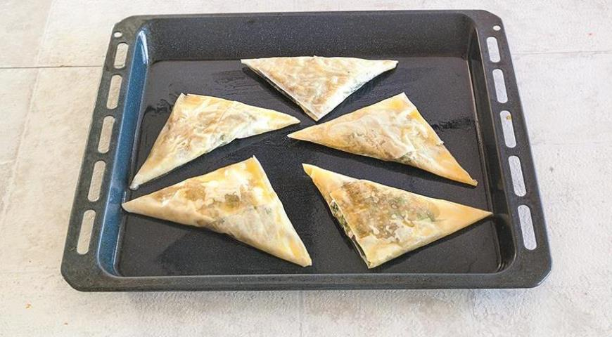 Хрустящие пирожки с мясной начинкой
