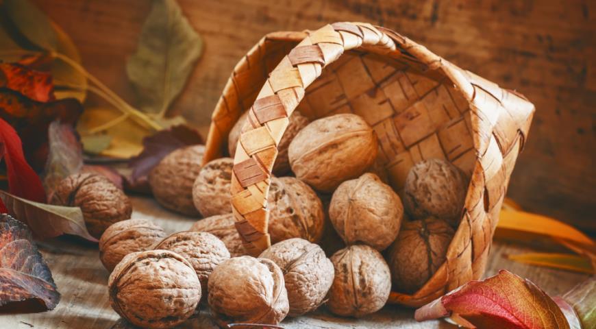 Грызите грецкие орехи для здоровья сердца