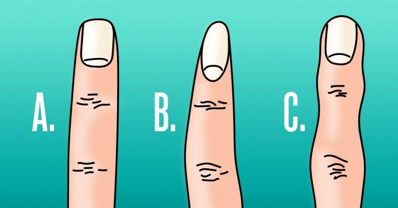 Что форма пальцев может рассказать о человеке