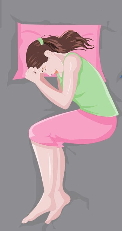 Самые полезные и вредные позы для сна