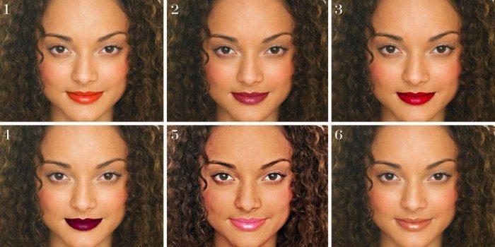 6 оттенков помад, которые должны быть в косметичке каждой современной женщины