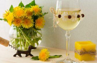 Вино из одуванчиков в домашних условиях