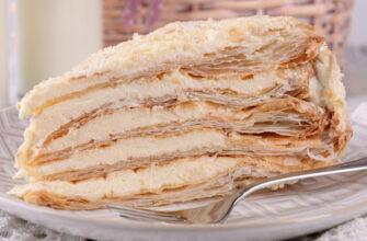 Самый нежный «Наполеон» из всех опробованных. Необыкновенно вкусный торт
