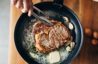 Трюк с альтернативной обжаркой куска мяса, доступный каждому