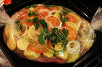 Запекаем полезные блюда в РУКАВЕ. 3 лучших рецепта без лишних усилий