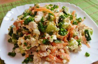 ТОП-3 вкусных салата без майонеза